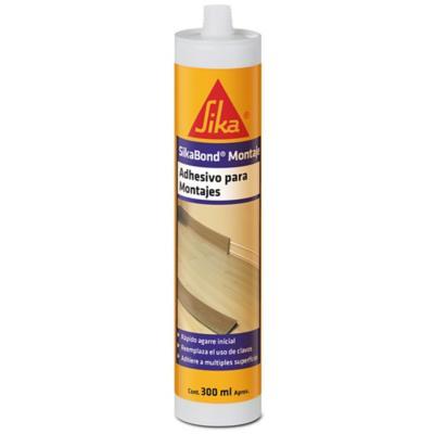 Adhesivo para montaje Sikabond 300 ml - 12 unidades