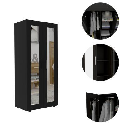 Clóset 2 puertas con espejo