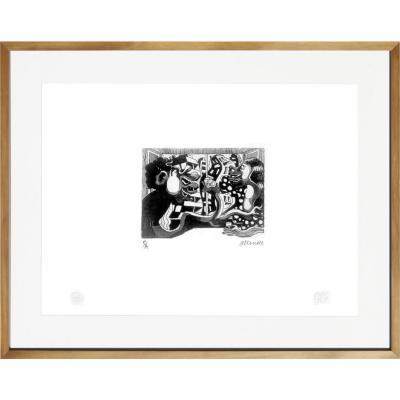 Cuadro 56x71 cm Cita artista Fernando Allende