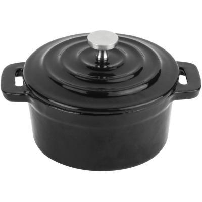 Mini olla 10 cm hierro negra