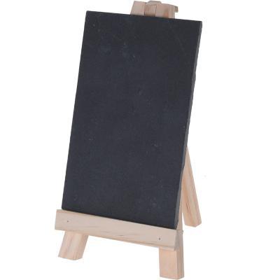 Pizarra 10x15 cm negra