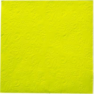 Servilleta de papel 16,5x16,5 cm verde 20 unidades