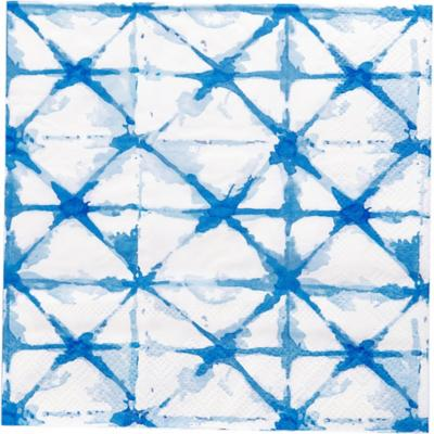 Servilleta de papel 16,5x16,5 cm geo 20 unidades