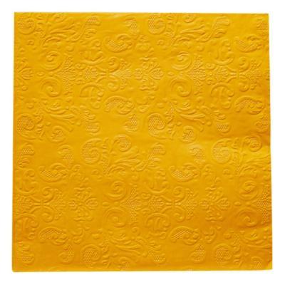 Servilleta de papel 16,5x16,5 cm azul 20 unidades