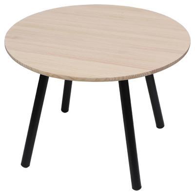 Mesa de comedor redonda 100x100 cm