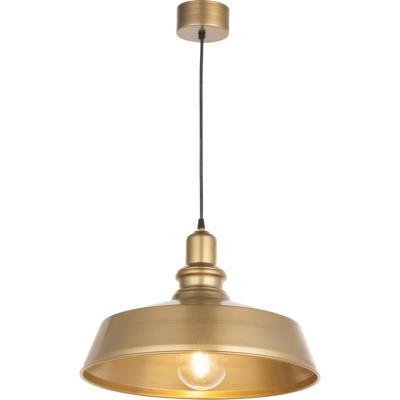 Lámpara Colgante Platillo Bronce 1LUZ