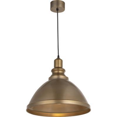 Lámpara Colgante Campana Forma Bronce 1 luz