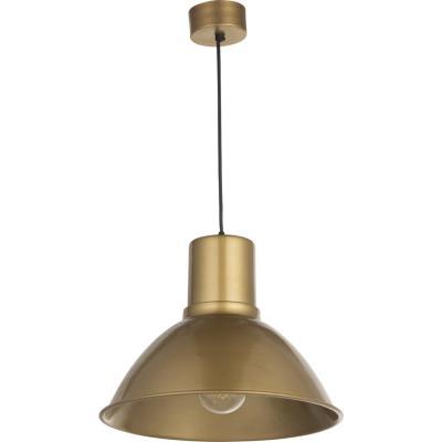 Lámpara Colgante Campana Cono Bronce 1 Luz