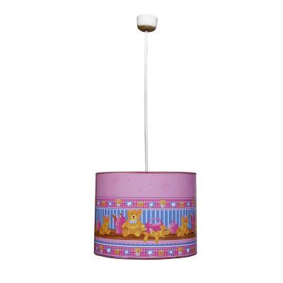 Lámpara colgante baby rosa 1 luz