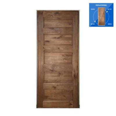 Puerta prepintada 90x200 cm