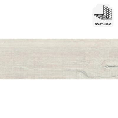 Gres porcelánico blanco 19x57 cm 1,08 m2
