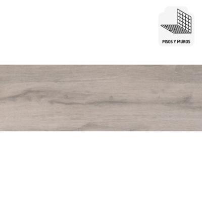 Gres porcelánico gris 19x57 cm 1,08 m2