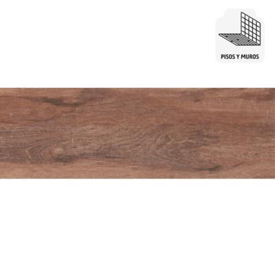 Gres porcelánico roble 19x57 cm 1,08 m2
