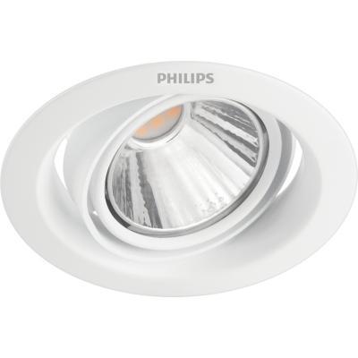 Embutido circular 9 cm 5w luz cálida