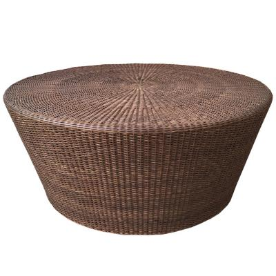 Mesa cónica chocolate 100x100x45 cm