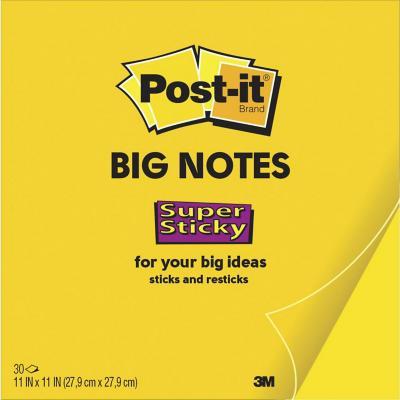 Notas adhesivas 27,9x27,9 cm papel 30 hojas