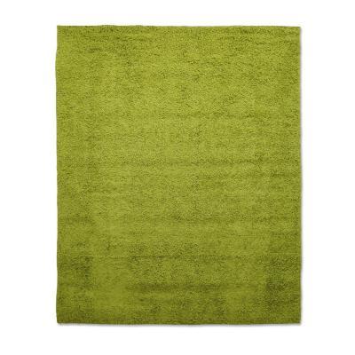 Bajada de camas shaggy lisa 50x100 verde