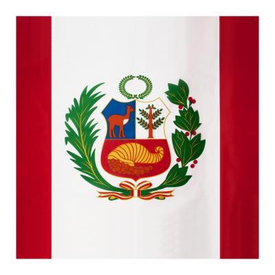 Bandera perú 90x150 cm