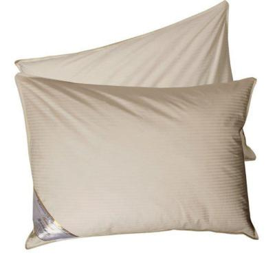 Set 2 almohadas pluma natural 50x90 cm