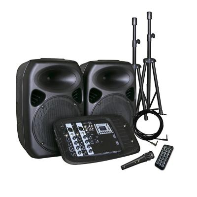 Kit de amplificación portátil 200w