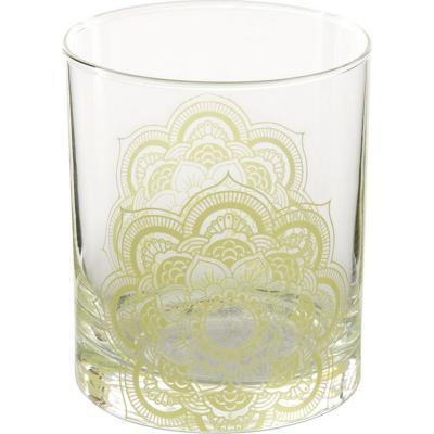 Vaso bajo vidrio 330 ml verde