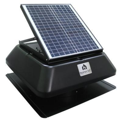 Extractor de aire solar para casa y ático 20w