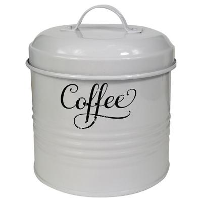 Canister para café latón