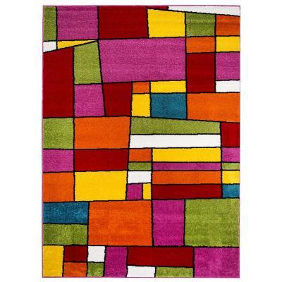 Bajada de cama  avatar 50x100 multicolor
