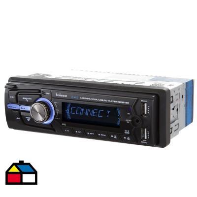 Radio reproductor 1 din bluetooth usb x2 mp3