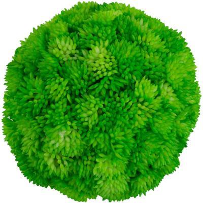 Esfera pasto plástico color verde 10 cm