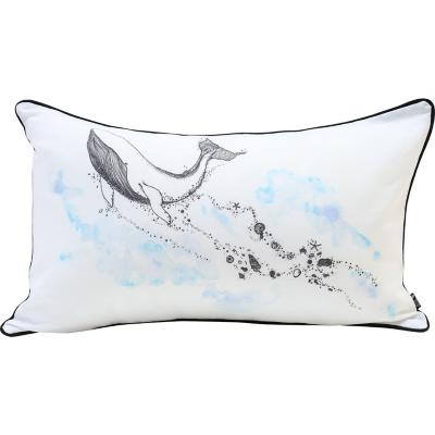 Cojín ballena algodón 30x50 cm