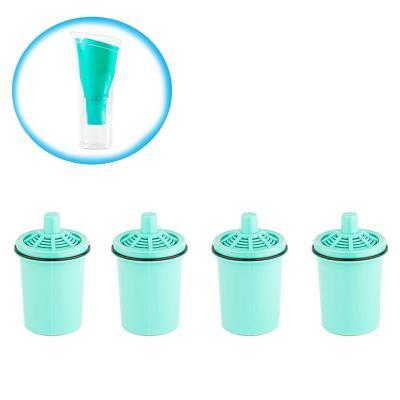 Pack 4 repuestos jarro purificador sense verde
