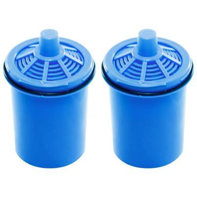 Pack 2 filtros  jarro purificador de agua azul