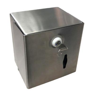 Dispensador metálico papel higiénico con llave
