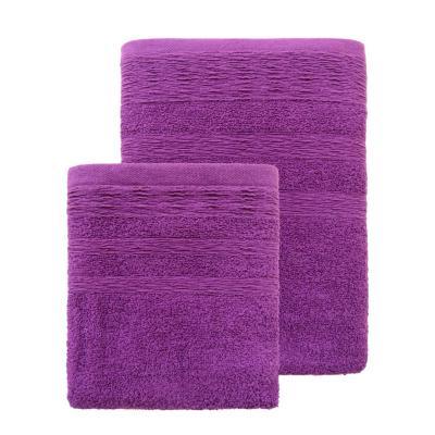 Set toallas 500 gramos 2 piezas fucsia