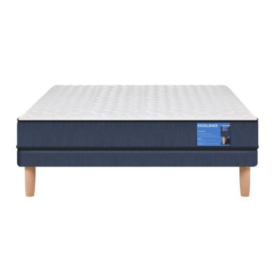 Cama europea excellence 2 plazas base normal