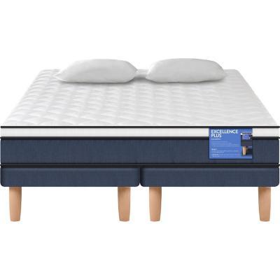 Cama Europea Excellence Plus 2 plazas BD + 2 almohadas