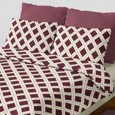 Set sábana fantino marrón king