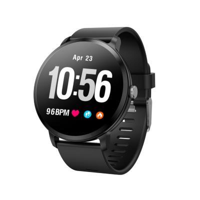 Smartwatch ri04 negro waterproof pulsómetro
