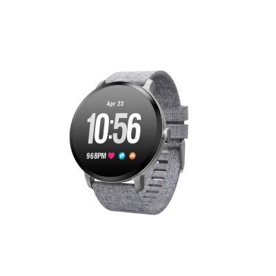 Smartwatch ri04 gris waterproof pulsómetro