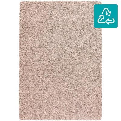 Alfombra shaggy dolce 120X170 cm rosada