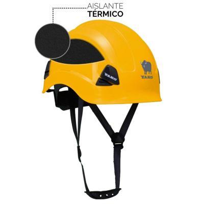 Casco de seguridad yako amarillo