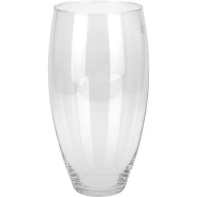 Florero vidrio cono 15x30 cm