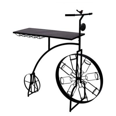 Mesa de Bar bicicleta con porta botellas