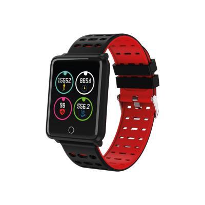 Smartwatch ri06 negro rojo