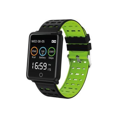 Smartwatch ri06 negro/verde
