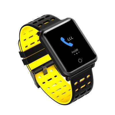 Smartwatch ri01 negro/amarillo