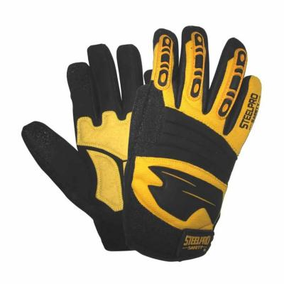 Guante impact force amarillo m