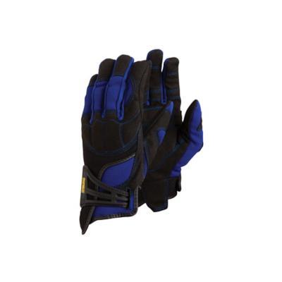 Guante antivibración azul l