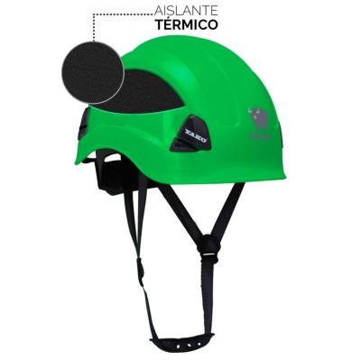 Casco de seguridad yako verde